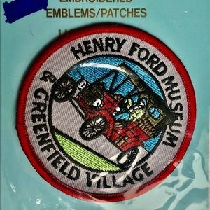 Henry Ford Museum/Greenfield Village Iron-On Patch